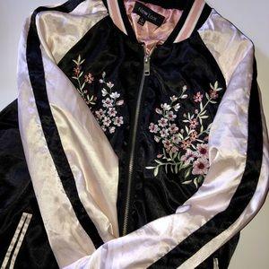 Women's silk jacket